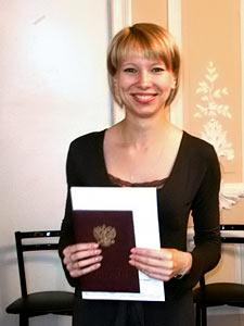 Светлана Аникина. Выпускница Школы переводчиков-референтов